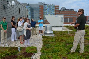 Green Teams Green Roof Tour