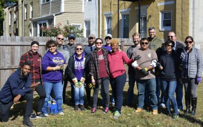Facilities and Real Estate Volunteer Day fall 2019